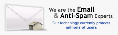 We are the email and anti-spam experts
